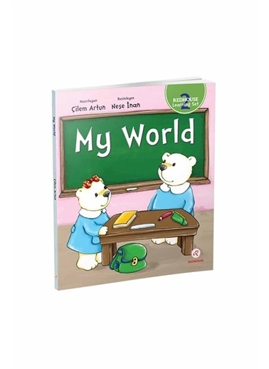 Red House Learning Set 2 My World Beyaz